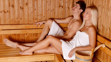 2 hodiny saunování a relaxu v sauně Primavera
