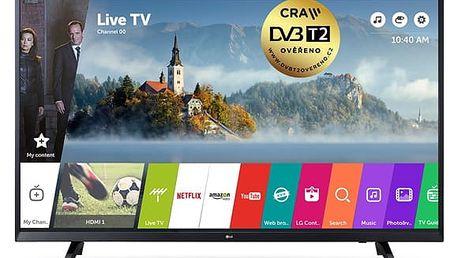 Televize LG 43UJ620V černá