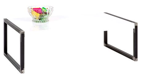 Bílý konferenční stolek MobiliFiver Luxury