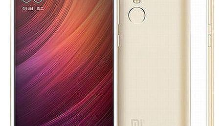 Mobilní telefon Xiaomi Redmi Note 4 64 GB CZ LTE (PH3082) zlatý Software F-Secure SAFE, 3 zařízení / 6 měsíců v hodnotě 979 Kč + DOPRAVA ZDARMA