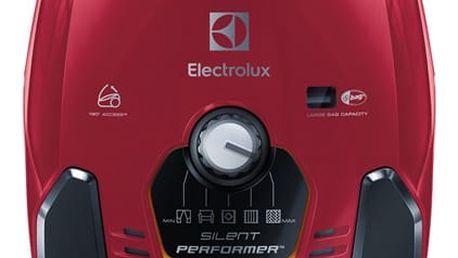 Vysavač podlahový Electrolux SilentPerformer ESP73RR červený
