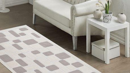 Odolný koberec Vitaus Mozaik Bej, 100x150cm