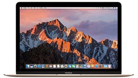 Notebook Apple 12'' 256 GB - gold (MNYK2CZ/A) Software F-Secure SAFE, 3 zařízení / 6 měsíců v hodnotě 979 Kč + DOPRAVA ZDARMA