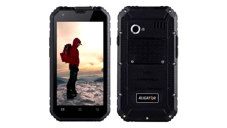 Aligator RX460 eXtremo 16 GB Dual SIM (ARX460BB) černý