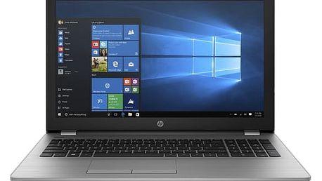 Notebook HP 250 G6 stříbrný + dárky (1XN51EA)