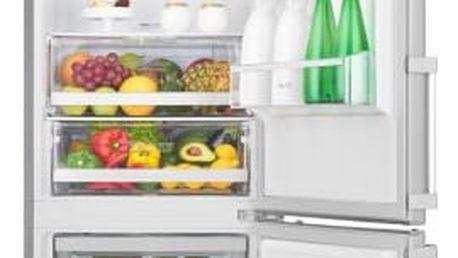 Kombinace chladničky s mrazničkou LG GBB60NSGFE nerez
