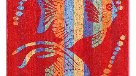 JAHU Plážová osuška Fish, 90 x 180 cm