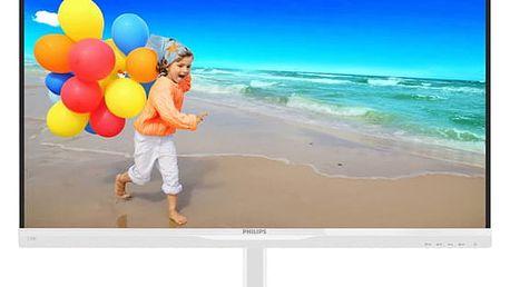 Monitor Philips 234E5QHAW (234E5QHAW/00) bílý + DOPRAVA ZDARMA
