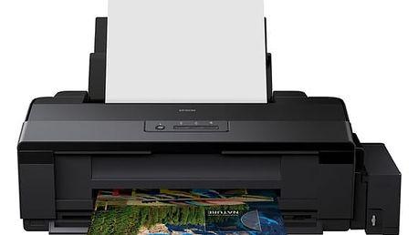 Tiskárna inkoustová Epson L1300 černá (A3, 30str./min, 17str./min, 5760 x 1440, USB) (C11CD81401)
