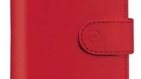 "Pouzdro na mobil flipové Celly Wally Unica, XL, 4.5"" - 5"" červené (WALLYUNIXLRD)"