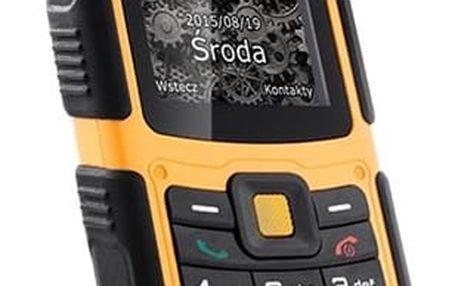 Mobilní telefon myPhone HAMMER 2 Dual SIM (TELMYHHA2OR) černý/oranžový Software F-Secure SAFE, 3 zařízení / 6 měsíců v hodnotě 979 Kč