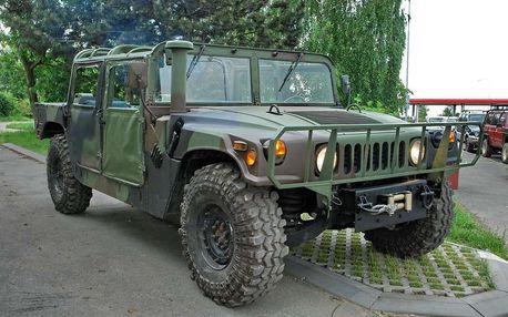 Projížďka v terénním voze Hummer H1