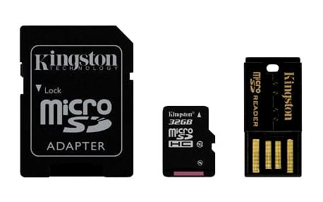 Paměťová karta Kingston Mobility Kit 32GB UHS-I U1 (30R/10W) (MBLY10G2/32GB)