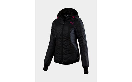 Bunda Puma ACTIVE Norway Jacket W Black-Ebony Černá