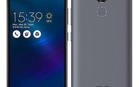 Mobilní telefon Asus ZenFone 3 Max ZC520TL (ZC520TL-4H077WW) šedý Software F-Secure SAFE, 3 zařízení / 6 měsíců + Sluchátka Asus FoneMate s pouzdrem bílý v hodnotě 979 Kč + DOPRAVA ZDARMA