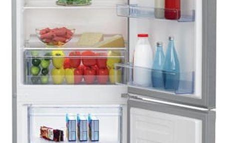 Kombinace chladničky s mrazničkou Beko CSA 270M30X nerez