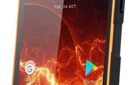 Mobilní telefon myPhone HAMMER ENERGY 3G Dual SIM (TELMYAHENER3GOR) černý/oranžový Software F-Secure SAFE, 3 zařízení / 6 měsíců v hodnotě 979 Kč + DOPRAVA ZDARMA