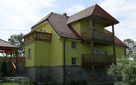 Pobyt na 4-7 dní až pro 5 osob u Lipna blízko Českého Krumlova