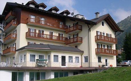 Itálie - Dolomity Superski na 5 až 8 dní, polopenze s dopravou vlastní