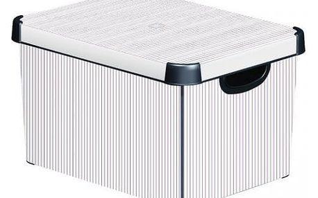 CURVER 33022 Plastový úložný box DECO - L - CLASSICO