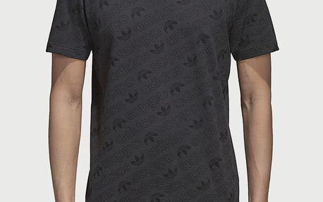 Tričko adidas Originals Aop Tee Černá
