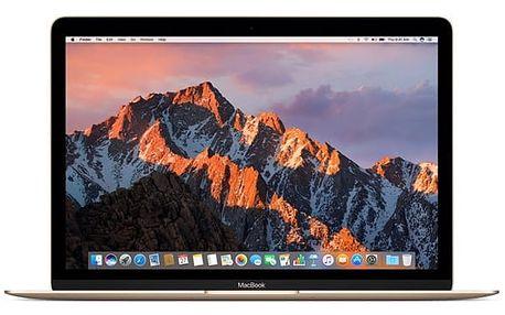 Notebook Apple 12'' 256 GB - gold (MNYK2CZ/A) + DOPRAVA ZDARMA