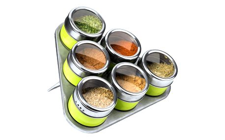 Set 6 magnetických kořenek se stojánkem Premier Housewares