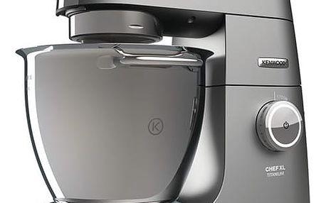 Kuchyňský robot Kenwood Chef XL Titanium KVL8400S šedý