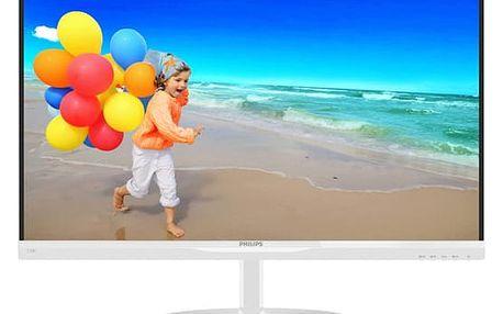 Monitor Philips 234E5QHAW (234E5QHAW/00) bílý Software F-Secure SAFE, 3 zařízení / 6 měsíců v hodnotě 979 Kč + DOPRAVA ZDARMA