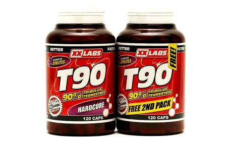 XXTREME NUTRITION XXtreme Nutrition T90 - Extreme Testosterone Booster 120 + 120 kapslí