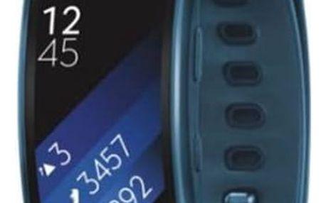 Samsung Gear Fit2 vel. L (SM-R3600ZBAXEZ) modrý