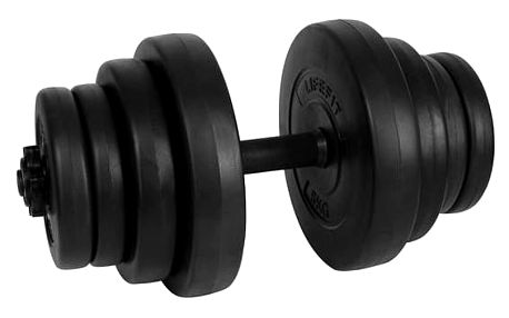 LIFEFIT Master nakládací 20kg černý