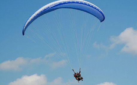 Termický paragliding v tandemu