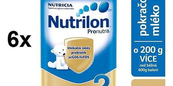 Nutrilon 2 Pronutra, 800g x 6ks