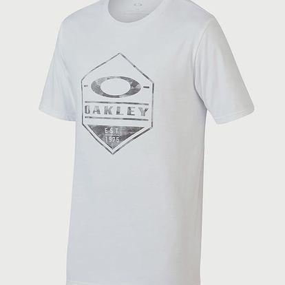 Tričko Oakley 50-Oakley Camo Hex White Bílá