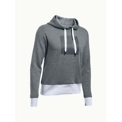 Mikina Under Armour Threadborne Fleece BL Hoodie Šedá