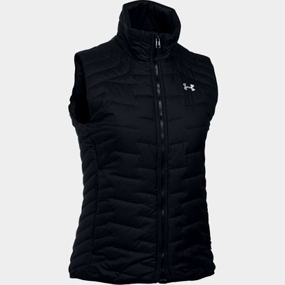 Vesta Under Armour Coldgear Feature Insulated Vest Černá