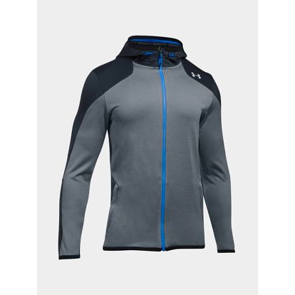Mikina Under Armour Reactor Full Zip Šedá