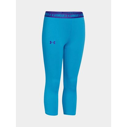 Legíny Under Armour HeatGear Capri Modrá
