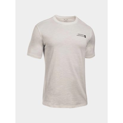 Tričko Under Armour Sportstyle Core Tee Bílá