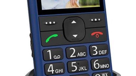 Mobilní telefon CPA Halo 11 (TELMY1011BL) modrý SIM karta T-Mobile SIM s kreditem T-mobile Twist V síti 200 Kč kredit v hodnotě 200 Kč