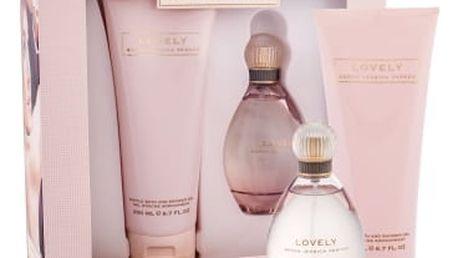 Sarah Jessica Parker Lovely dárková kazeta pro ženy parfémovaná voda 100 ml + sprchový gel 200 ml