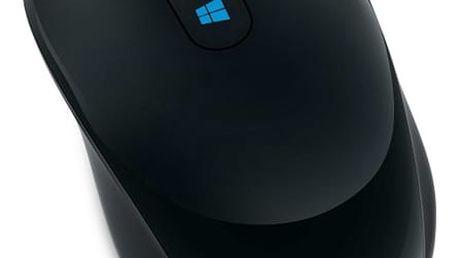 Myš Microsoft Sculpt Mobile černá (/ BlueTrack / 3 tlačítka / 1000dpi) (43U-00004)