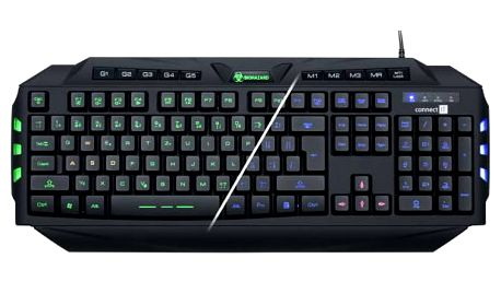 Connect IT Biohazard GK2000, CZ (CI-218) černá