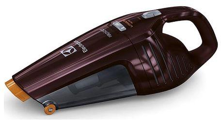 Akumulátorový vysavač Electrolux Rapido ZB6114BO fialový