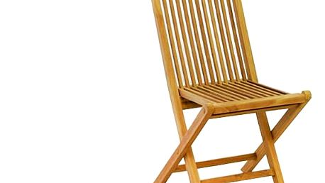 Garthen 600 Skládací židle z teakového dřeva