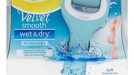 SCHOLL Velvet Wet & Dry Elektrický pilník na chodidla