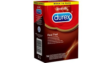 DUREX Real Feel 16 ks - jemné kondomy