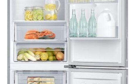 Kombinace chladničky s mrazničkou Samsung RB5000 RB37J5009SA/EF nerez