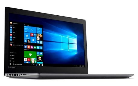 Notebook Lenovo IdeaPad 320-15IKBN černý + dárky (80XL007CCK)